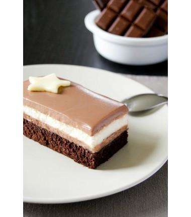 Dessert aux 3 Chocolats à partager