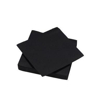 Serviette en papier - Noire